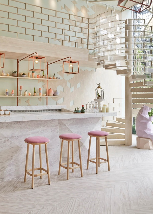blush kitchen
