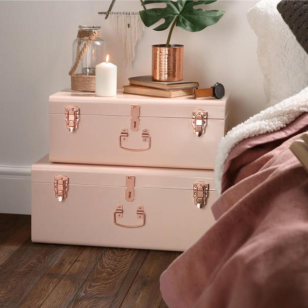 copper and blush cases