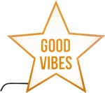 Good Vibes Star Light Box from Cult Furniture
