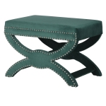 Emerald Footstool from Sweetie & Willow, home ideology
