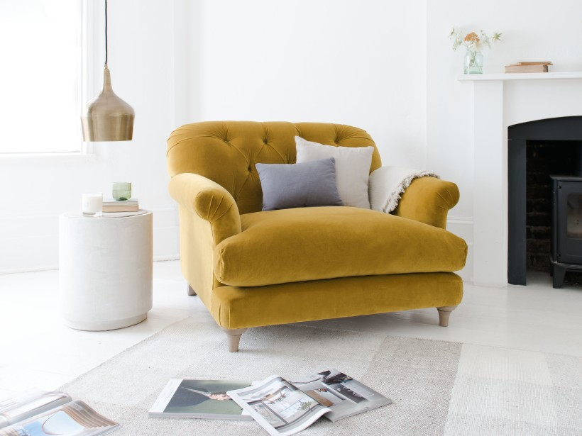 loaf, love seat, mustard seat,