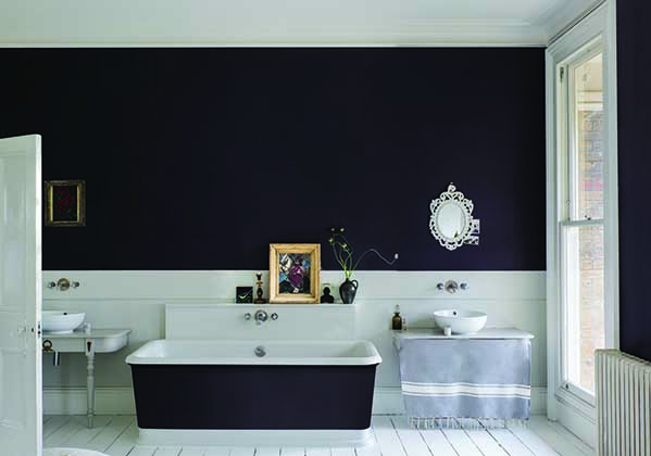 PAEAN BLACK, farrow and ball, home ideology, inter blog, paint