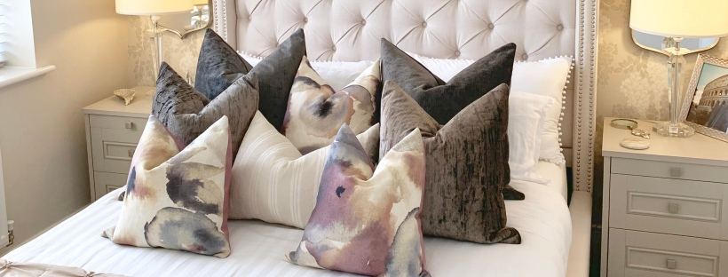 home ideology 10 ways to style a bed with scatter cushions