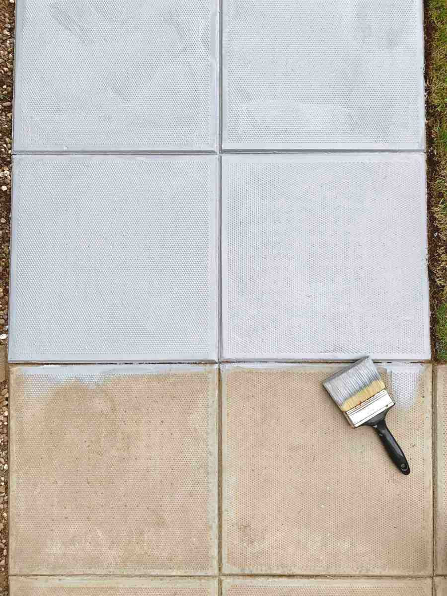 PAINTING CONCRETE SLABS